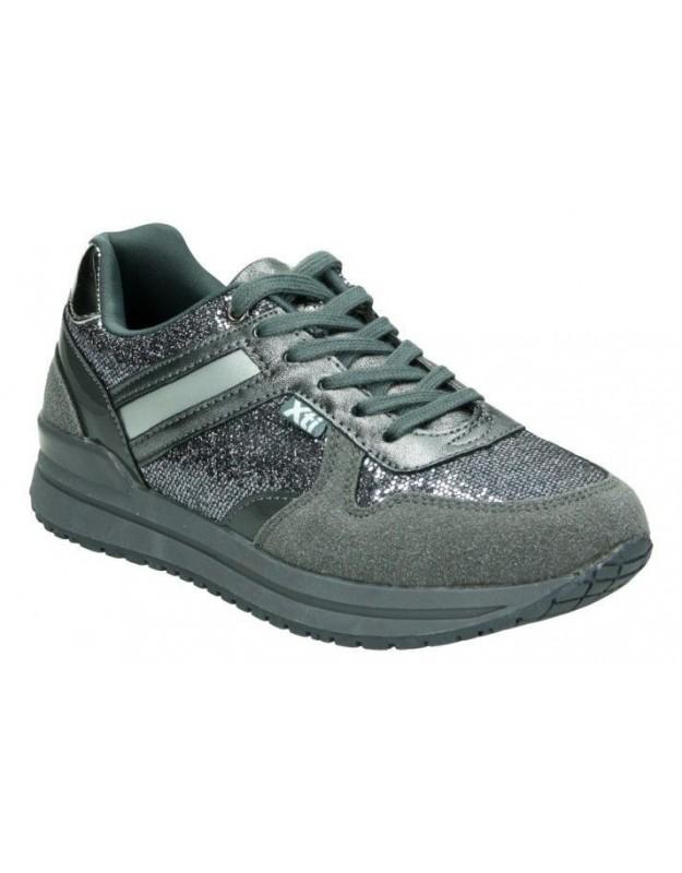 Deportivas color gris de casual nike 833535