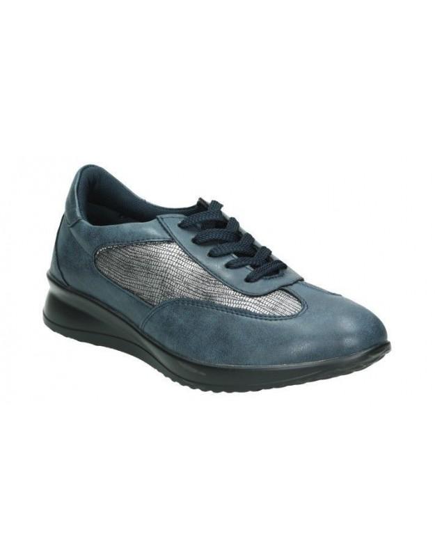 Sandalias casual de señora walk & fly 7325-16170 color azul