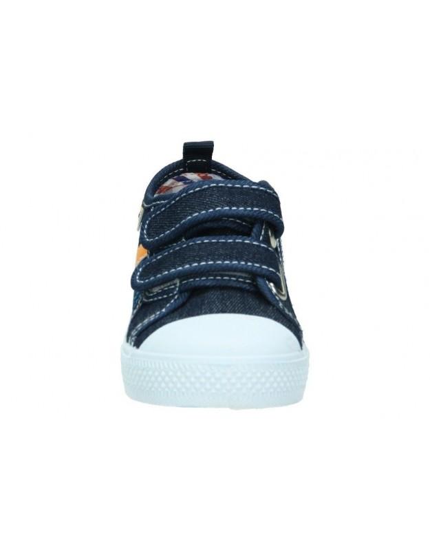 Deportivas casual de moda joven xti 47416 color azul