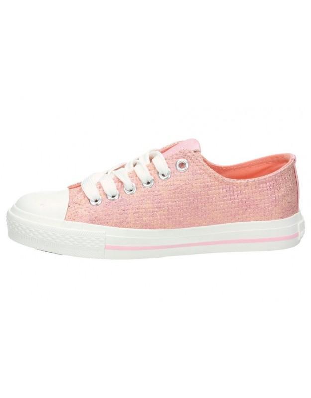 Zapatos casual de niña xti 55262 color plata