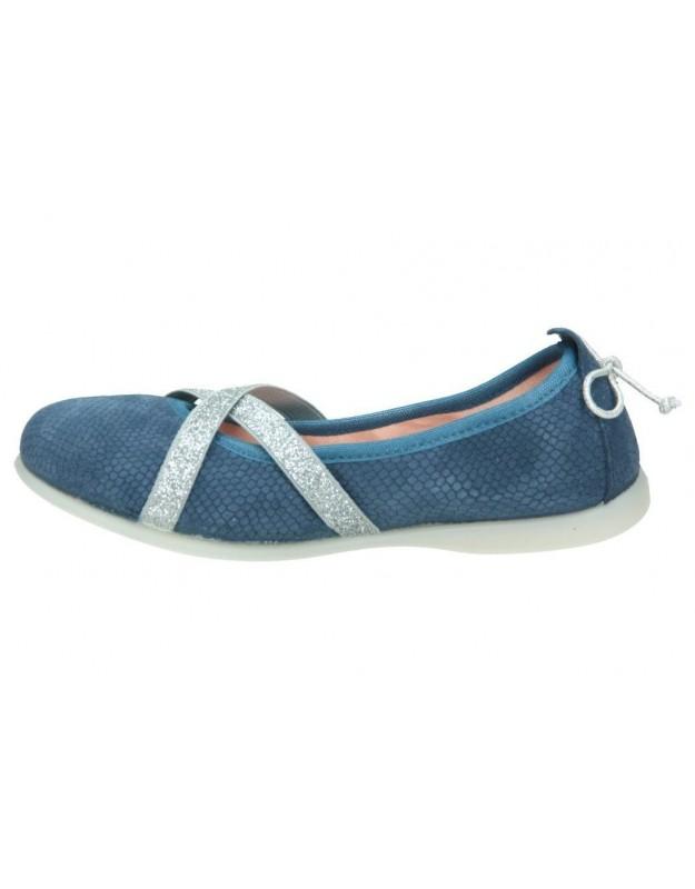 Zapatos casual de niña chetto 17529 color gris