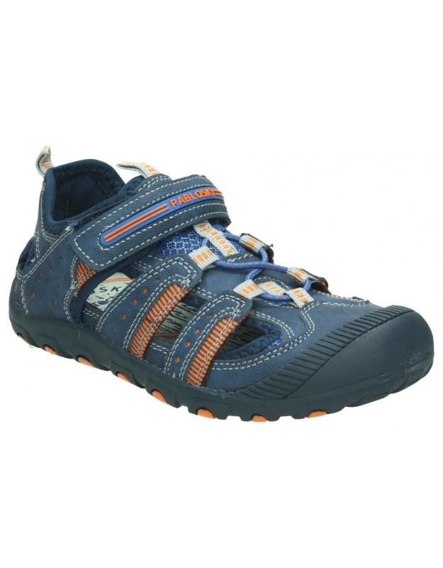Sandalias para niño planos xti 55057. en gris