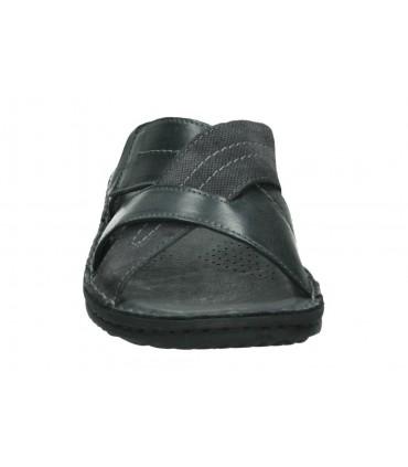 Sandalias color gris de casual crecendo 1344