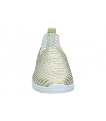 Sandalias para niña planos garvalin 182636 c en blanco