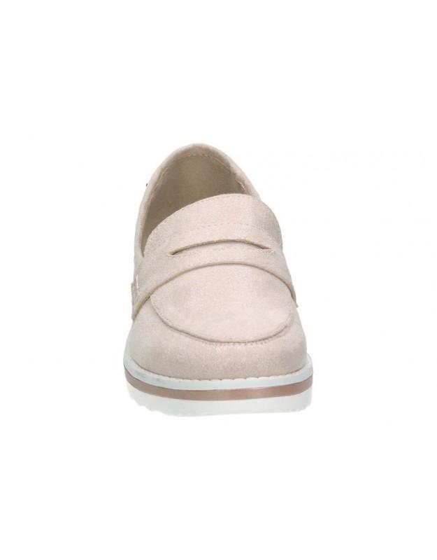 Sandalias para niña planos gioseppo 45022 en blanco