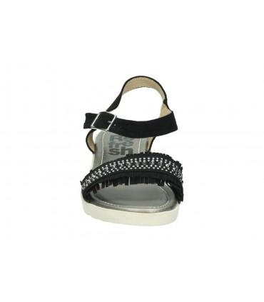 Sandalias casual de niña gioseppo 44650 color plata