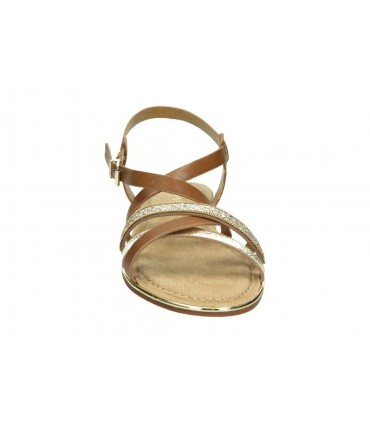 Sandalias para señora cuña relaxshoe 395-007 en beige