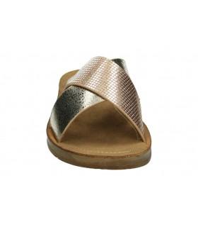 Zapatos color dorado de casual treinta´s a101