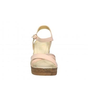 Sandalias para señora riposella 40742 marron