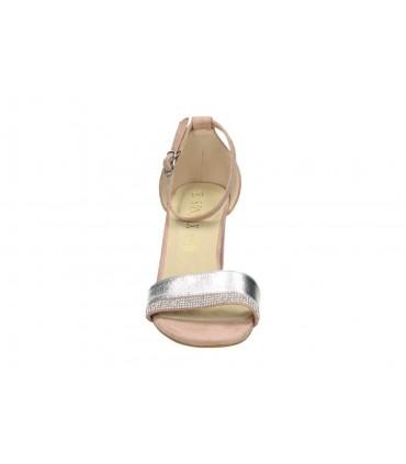 Sandalias casual de señora riposella 6297 color blanco