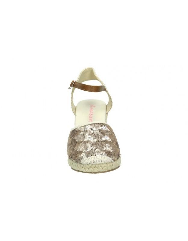 Zapatos para señora treinta´s 2903 beige