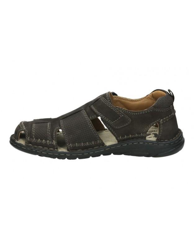 Zapatos para señora tacón dorking 5794 en negro