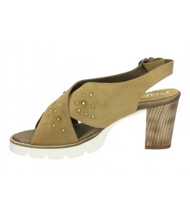 Zapatos casual de señora dorking 5794 color beige
