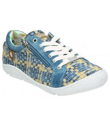 Zapatos para caballero fluchos 9919 azul