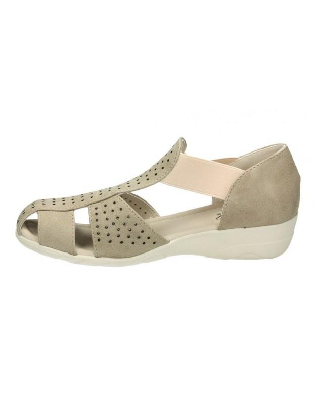 Zapatos para caballero planos lois 61119 en marron