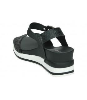 Zapatos fluchos 0186 azul para señora