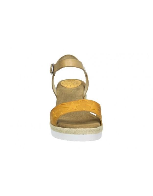 Sandalias d´angela dws12821-m dorado para señora