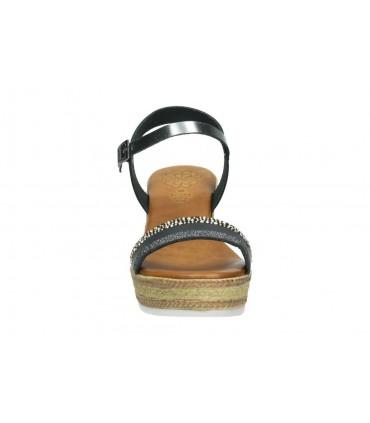 Zapatos para señora d´angela dgb12786-m plata