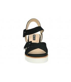 Sandalias color negro de casual destroy w331761