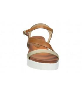 Zapatos para señora planos destroy s901081 en plata