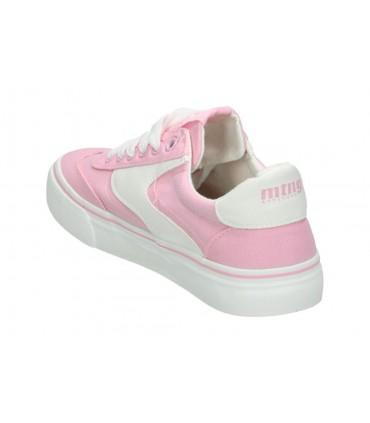 Zapatos para señora planos pitillos 5122 en plata