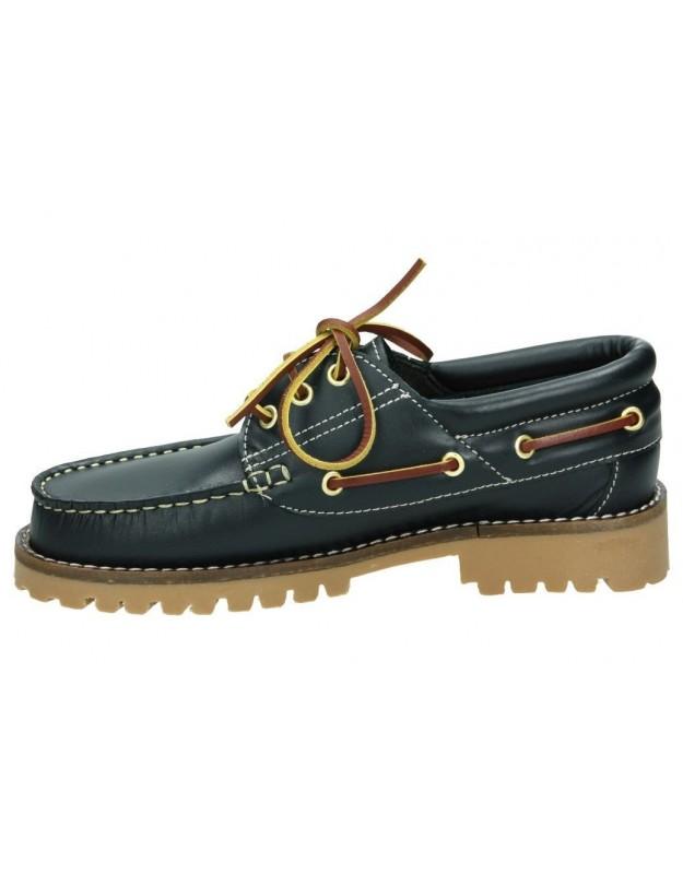 Zapatos color negro de casual blackcool 1092