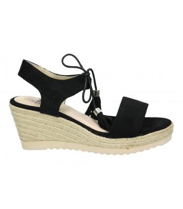 Sandalias para moda joven tacón marila n7113/il-24 en marron