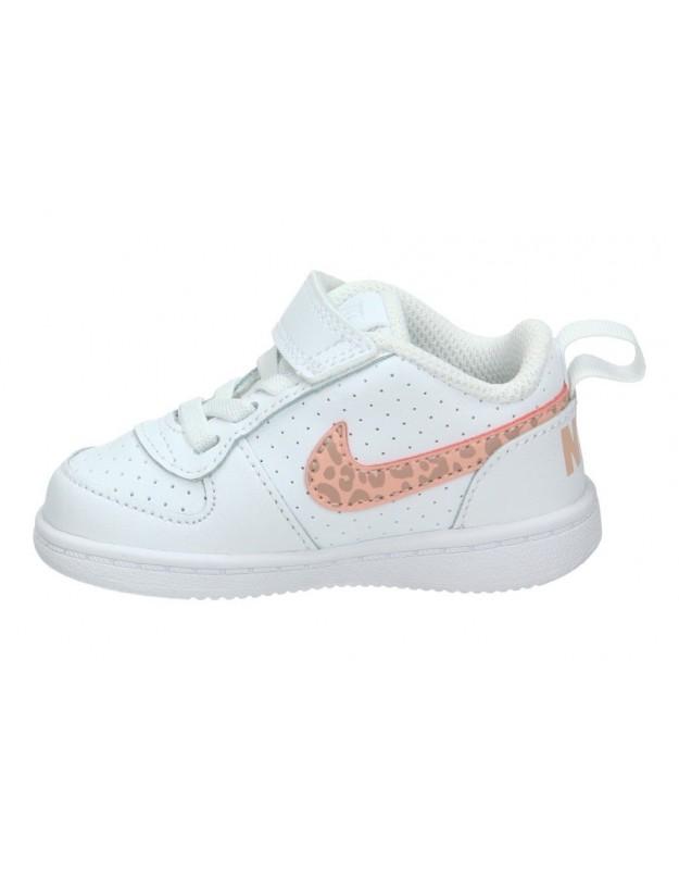 Zapatos para moda joven cuña coolway laia en blanco