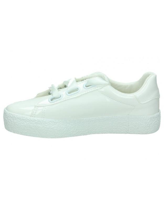 Sandalias para moda joven tacón coolway ania en beige