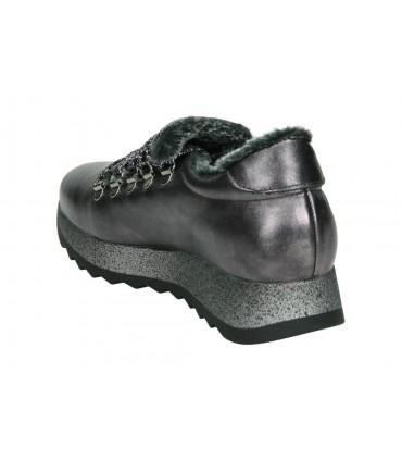 Zapatos vestir de señora pitillos 5214 color negro