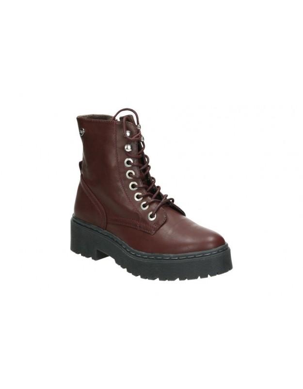 Zapatos para señora tacón pitillos 5244 en negro