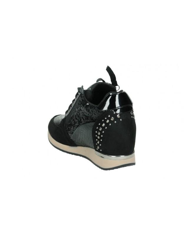Zapatos para moda joven plataforma moregaba blaxtor en negro