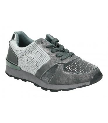 Zapatos para caballero planos kangaroos 9645-11 en negro