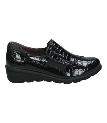 Zapatos casual de señora tiglio 932 color negro