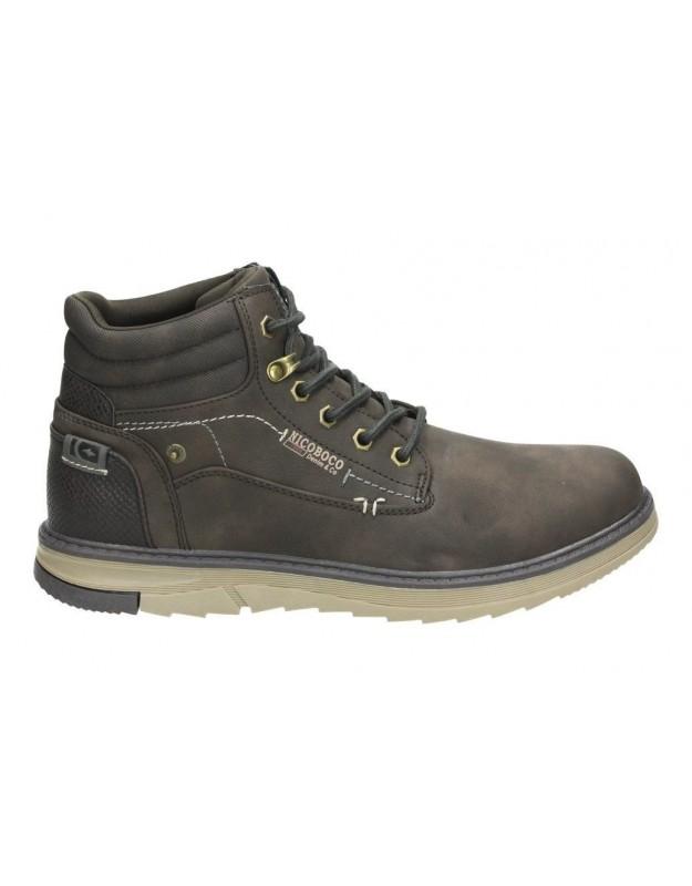 Zapatos casual de caballero skechers 65323-blk color negro