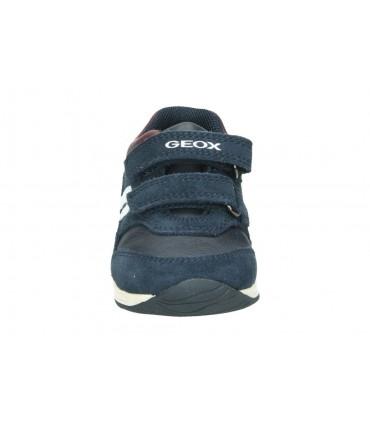 Zapatos para niña planos geox j8421b en gris