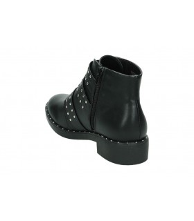 Botines casual de moda joven coolway cardy color negro