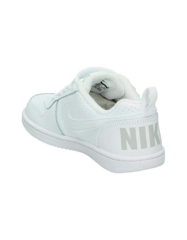 Deportivas color blanco de sport nike 870025 100