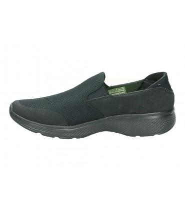 Skechers negro 82006l-bkmt deportivas para señora