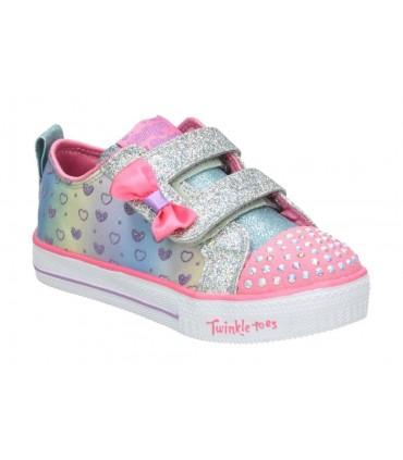 Zapatos skechers 65910-nvy azul para caballero