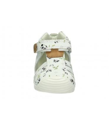Zapatos color blanco de casual geox d929gb