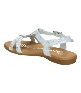 Sandalias casual de niña pablosky 464657 color plata