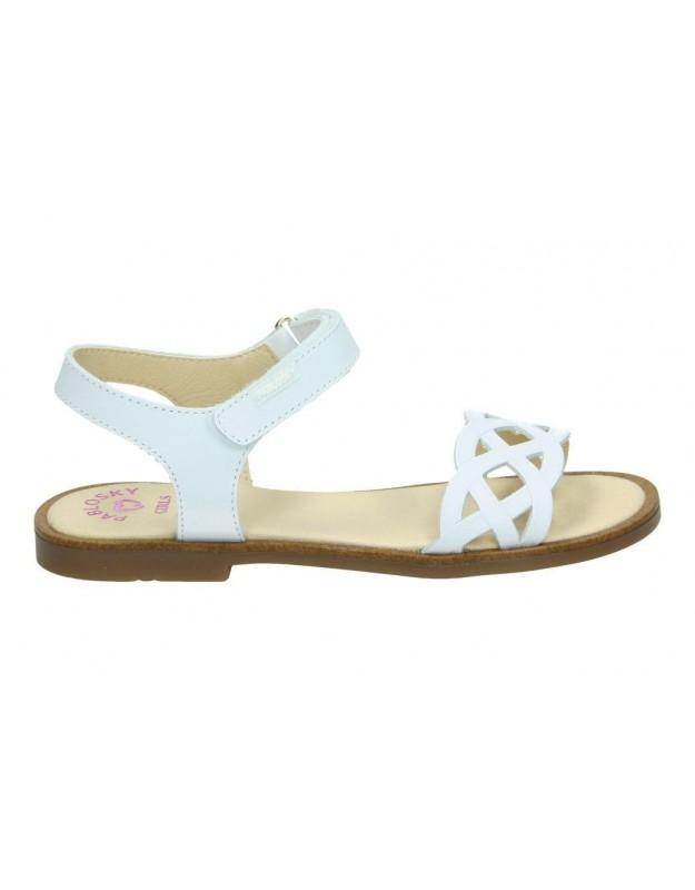 Gioseppo blanco 47843 sandalias para niña