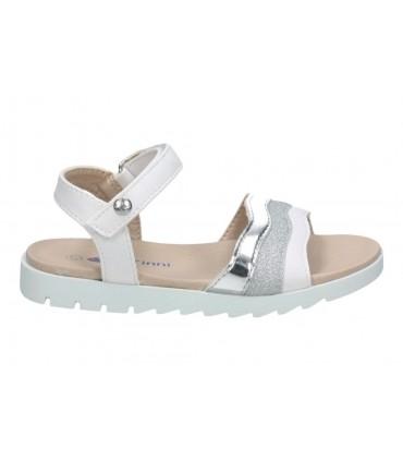 Sandalias casual de niña pablosky 468754 color plata