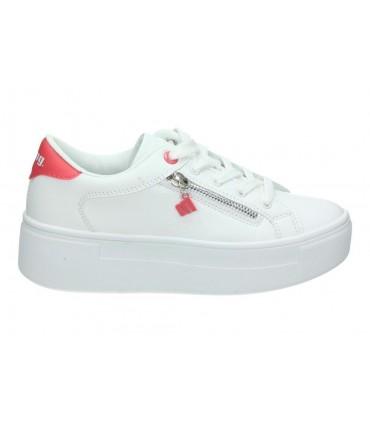 Deportivas para moda joven mtng 69596 blanco