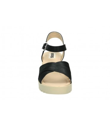 Sandalias color plata de casual xti 55719