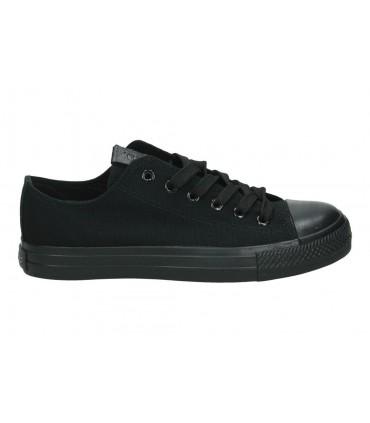 Sandalias color negro de casual d´angela dws15647-m