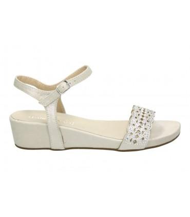 Sandalias para moda joven chk10 tiara marron