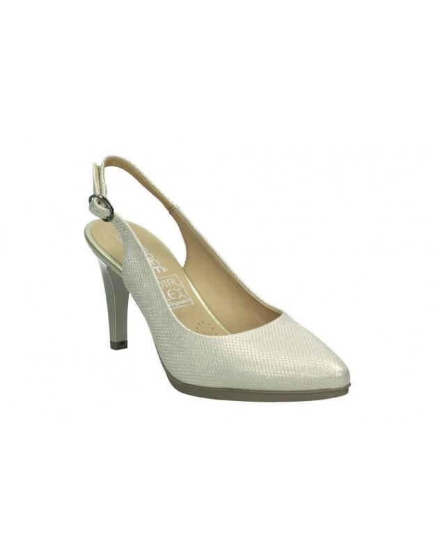 Zapatos para caballero planos fluchos f0435 en marron