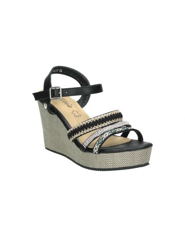 Zapatos color negro de casual levi´s 225826